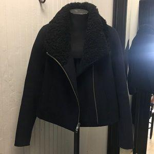 Vince winter zipper jacket.